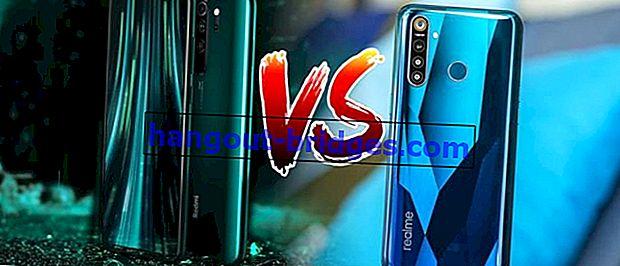 การเปรียบเทียบขอบเขตของ 5 Pro เทียบกับ Redmi Note 8 Pro, Duel Android Android IDR 3 ล้าน!