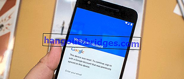 Cara Membuka Telefon Pintar Yang Dikunci Kerana Perlindungan Reset Kilang