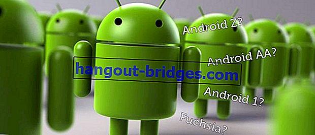 Ini adalah Teori Penamaan Android Selepas Android Z, Adakah Android Akan Bersara?
