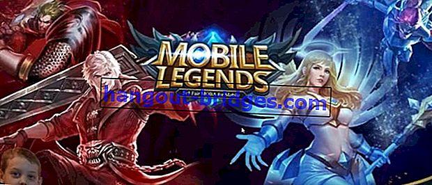 Mobile Legends: Bang bang, DotA Games Untuk Android HP RAM Di bawah 1 GB