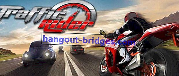 Muat turun MOD APK Terkini Traffic Rider v.1.6.1 | Wang Tanpa Had!