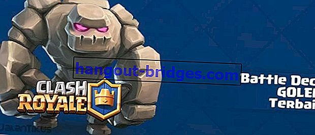 Kombinasi terbaik Battle Deck Golem di Clash Royale