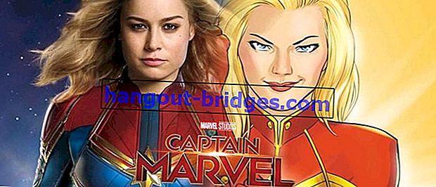 7 Fakta Unik Tentang Captain Marvel, Nombor 2 Membuat Anda Terkejut!