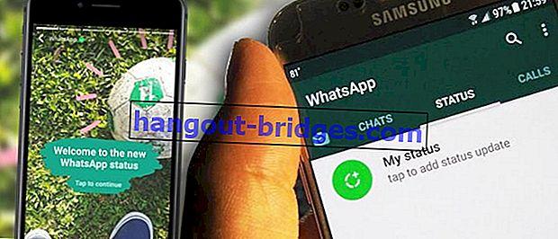 Cara Menyimpan Status WhatsApp Orang Lain Tanpa Aplikasi Tambahan!