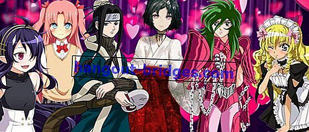 13 Watak Anime Cantik yang Ternyata Lelaki, Memikat dengan Cantik!