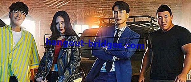 韓国ドラマプレーヤー(2018)を観る 犯罪グループは犯罪を撲滅します!