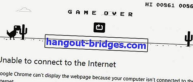 Comment jouer à des jeux de dinosaures dans Chrome tout en restant en ligne