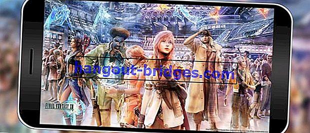Tanpa PC, PS, Mod! Inilah Cara Bermain Final Fantasy 13 di Android