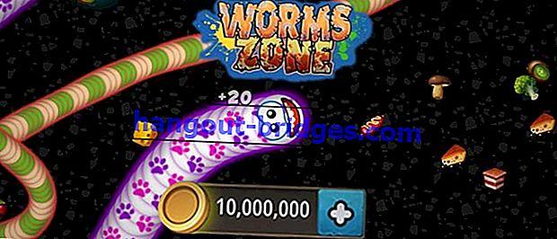 Muat turun MOD APK Worms Zone.io Terkini 2020, Buka Kunci Kulit Dibayar!