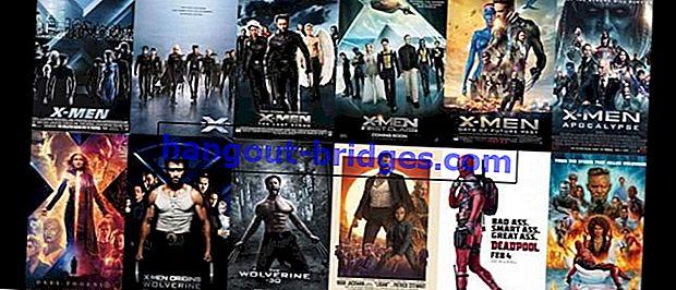 Perintah Filem X-Men Lengkap dari Awal hingga Akhir, Jangan Terkeliru!