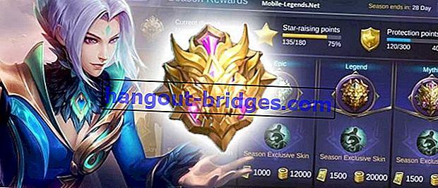Senarai Lengkap Kedudukan Mobile Legends Rank 2019 | Mythic Season 14 telah berubah sama sekali!