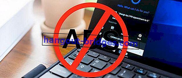 Cara menghilangkan iklan yang muncul di komputer riba Windows 10