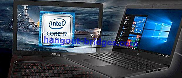 10 Laptop Core i7 Termurah dan Terbaik pada tahun 2020 | Spesifikasi Garang Bermula dari 4 Juta!
