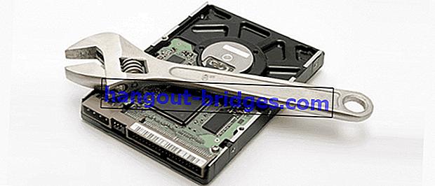 Cara Berkesan untuk Memperbaiki Hard Disk atau Sektor Buruk yang Rosak