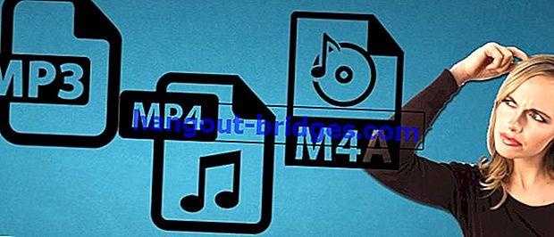 Voici la différence entre MP3, MP4 et M4A: quel est le meilleur?