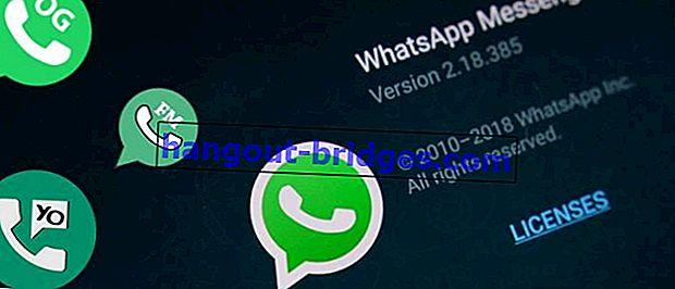 10 MOD APK WhatsApp dengan Ciri Terbaik 2020, Mod Gelap Boleh Gelap!