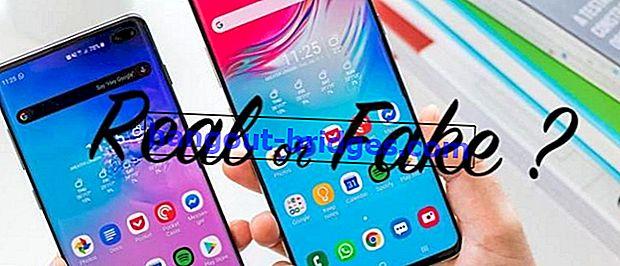 Come controllare i telefoni Samsung originali / falsi più precisi, attenzione all'acquisto di HDC!