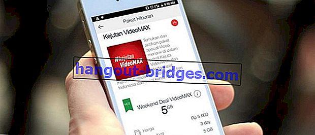 만족스러운 인터넷 사용자, Telkomsel VideoMax 할당량 사용 방법은 다음과 같습니다!