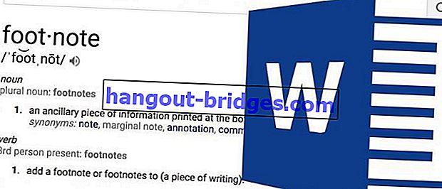 Cara Membuat Nota Kaki di Microsoft Word, Mudah dan tidak rumit!