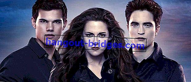 C'est l'ordre des films Twilight depuis le début | Êtes-vous l'équipe Edward ou l'équipe Jacob?