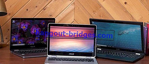 Jangan keliru! Inilah Perbezaan antara Notebook, Netbook, dan Laptop