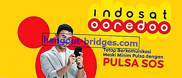 비상 사태에 대한 Indosat 크레딧을 차용하는 방법