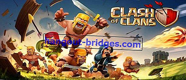 Cara Memperoleh Permata Percuma di Clash of Clans