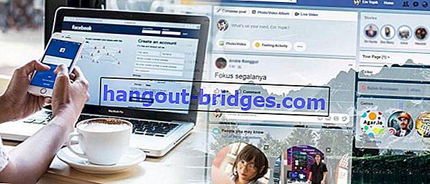 Cara Mengubah Tampilan Facebook dengan Tema Hebat
