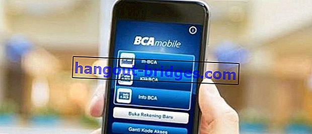 ATM없이 BCA m- 뱅킹을 등록하고 활성화하는 방법은 쉽고 안전합니다!