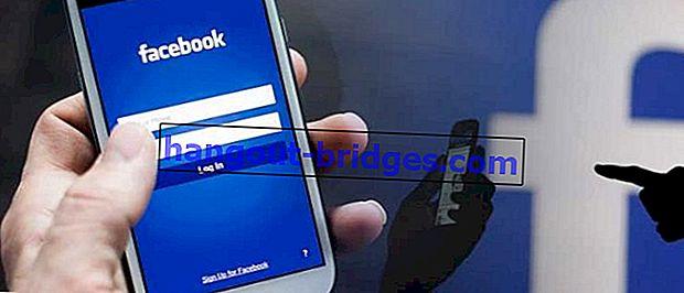 Cara log masuk Facebook tanpa perlu menaip e-mel dan kata laluan anda