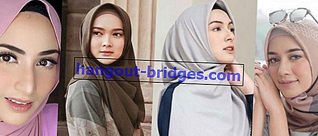 20 Jilbab Selebriti yang Wajahnya Meriah, Masyaallah Cantik!