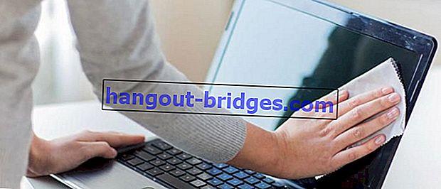Cara Membersihkan Skrin Laptop Dengan Selamat | Dijamin berkilat!