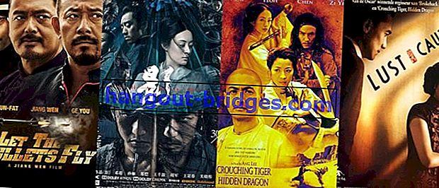 10 migliori film cinesi di tutti i tempi, da non perdere con i film di Hollywood!