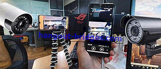 Cara Membuat Telefon Pintar Android Boleh Menjadi CCTV, Boleh Membuat Monitor Teman lelaki!
