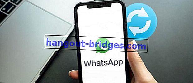 Cara memulihkan akaun Whatsapp yang dipadam di Android, tanpa root!
