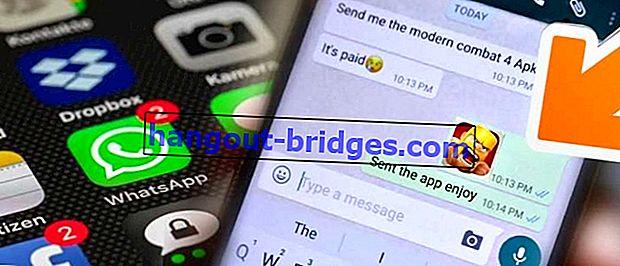 WA (WhatsApp)를 통해 응용 프로그램을 보내는 4 가지 방법, APK 게임을 보낼 수 있습니다!