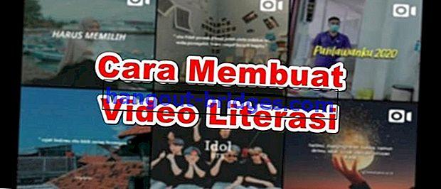 Cara Membuat Literasi Video | Sesuai untuk IG Story dan WA!