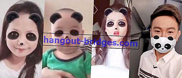 Viral lagi! Inilah Cara Mudah Membuat Video Bersin Menjadi Panda
