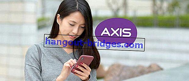 Il modo più veloce per impostare APN Axis 2020, Internet Speedier!