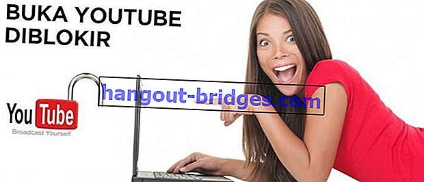 Cara Mudah Membuka Video Youtube Disekat oleh Pelayan Mudah
